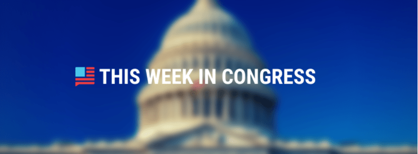 This Week in Congress