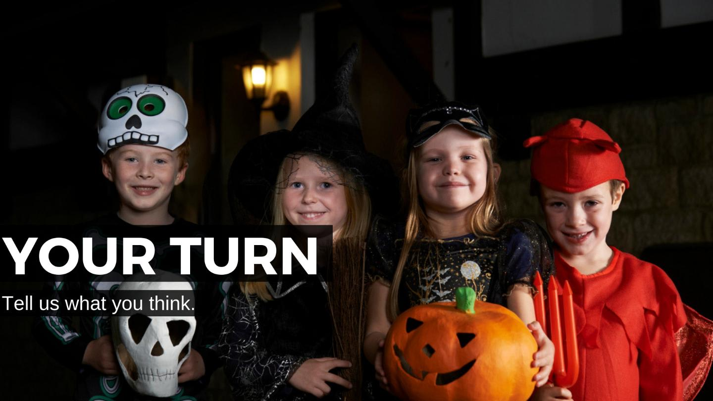 Should There Be Age Limits For Trick Or Treating Countable