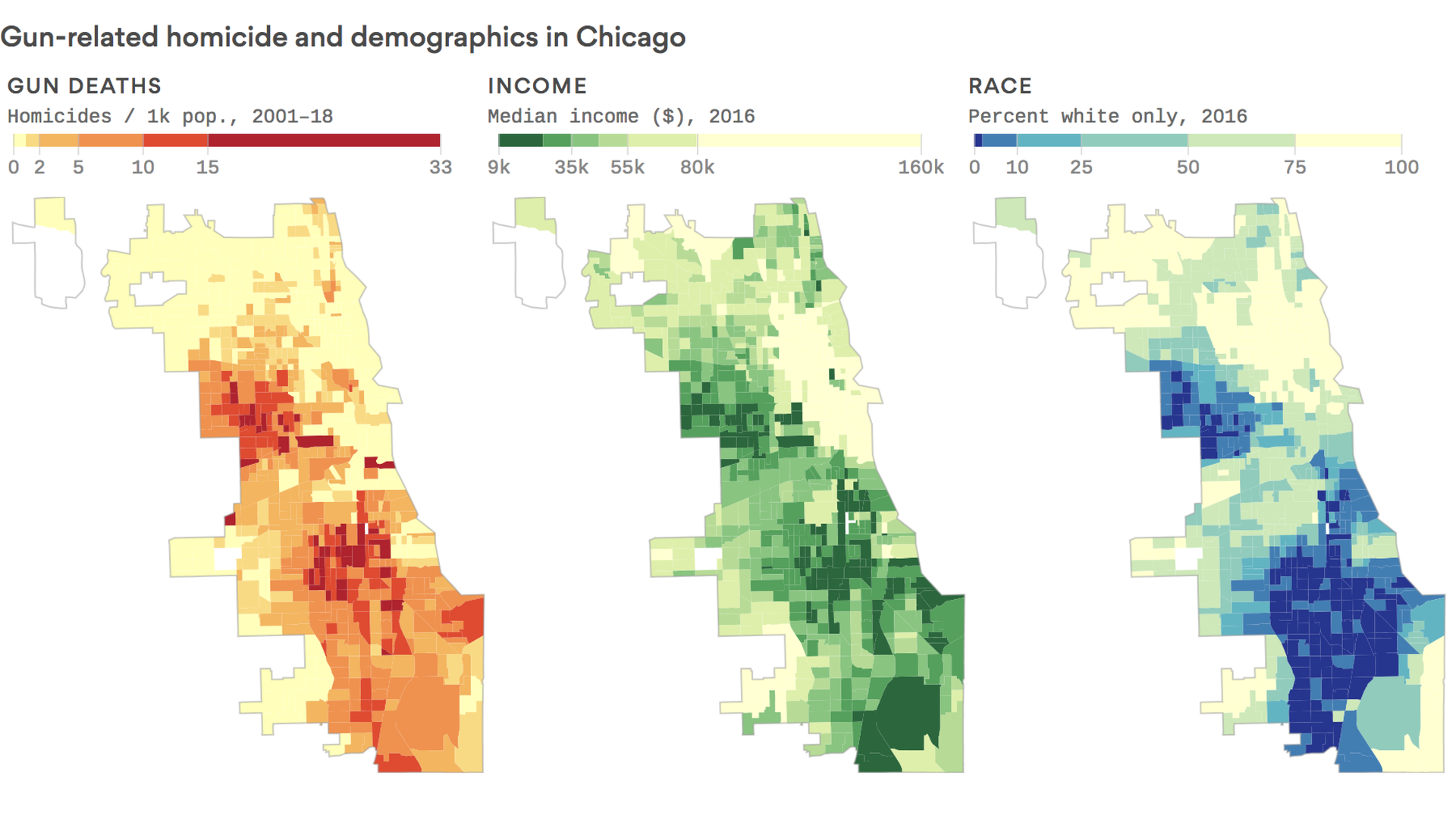 The Deadliest City: Behind Chicago's Segregated Shooting ... on chicago gang map, chicago economy map, chicago murder map, dangerous parts of chicago map, chicago neighborhood map, chicago zip code map, chicago youth violence map, chicago pollution map, chicago tourist map, worst parts of chicago map, chicago gun violence map, chicago hood, chicago shootings map, chicago ethnic groups map, chicago violence 2013, chicago mafia map, chicago alderman ward map 2014, chicago death map, chicago western map, chicago homicide map,