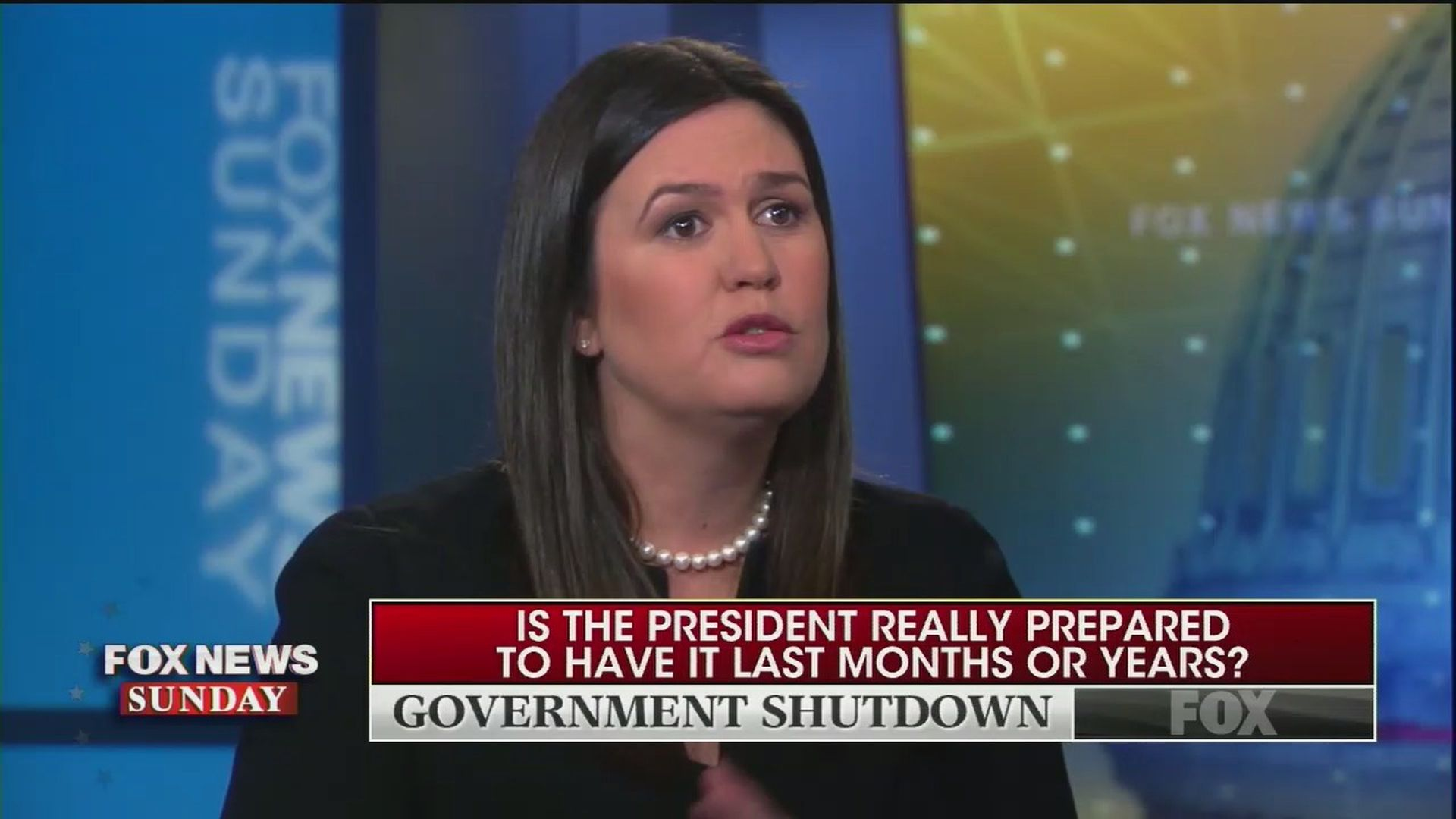 Image result for sarah sanders months or years